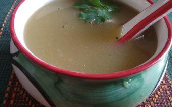 pumpkin radish soup