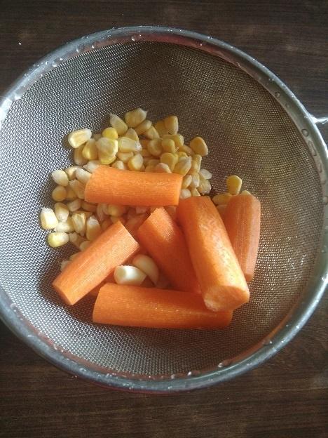 Carrot Corn Soup