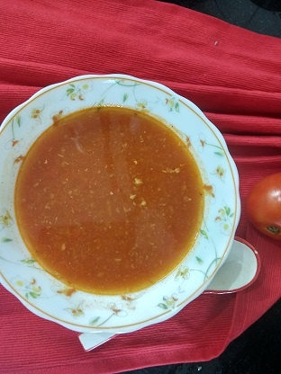 tomato ginger garlic soup