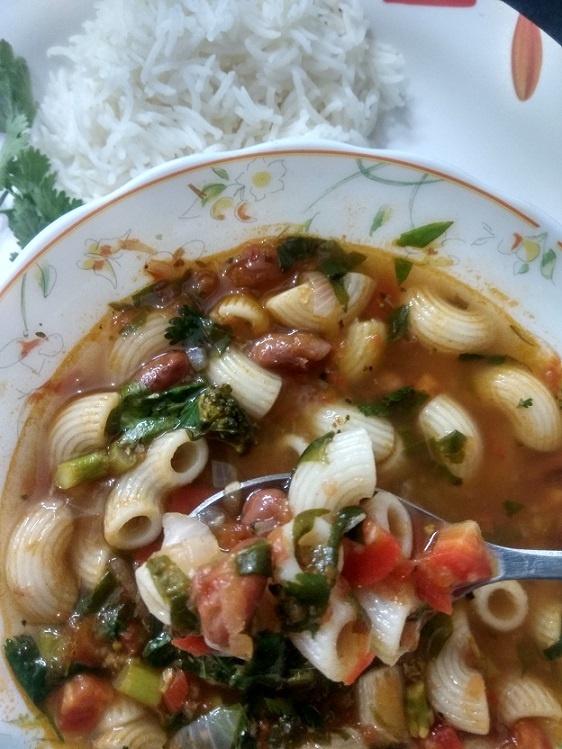 Italian Pasta Veg Soup