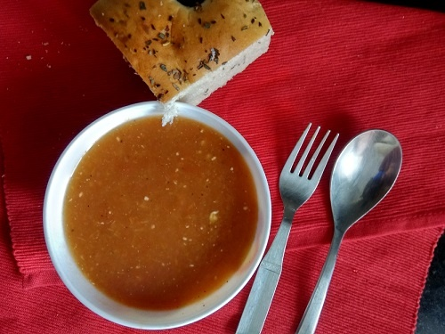 Carrot Pumpkin Soup Recipe