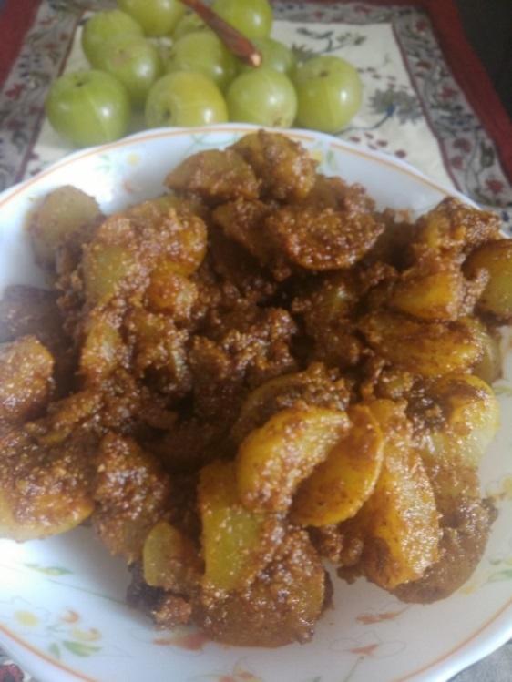 Gooseberry (Amla) Achar Recipe