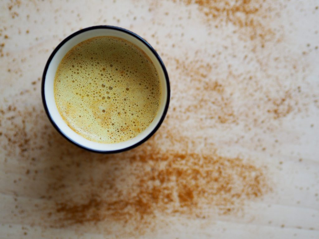 Raw Turmeric Milk