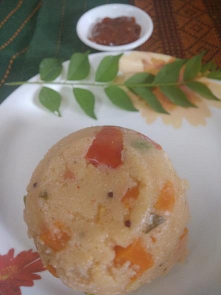 Upma | How to make vegetable Rava Upma