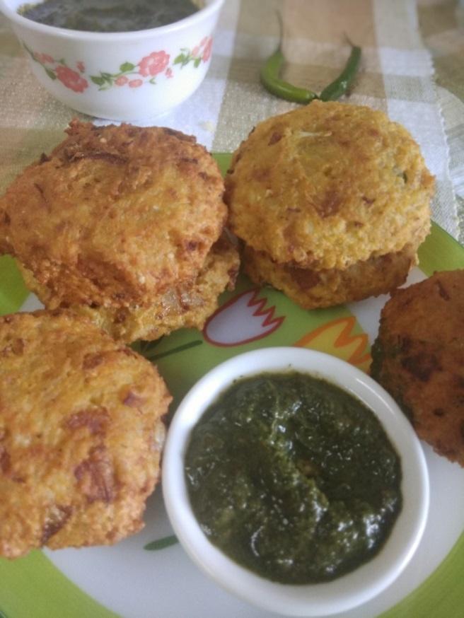 Chawal ke Pakode | Rice Pakora