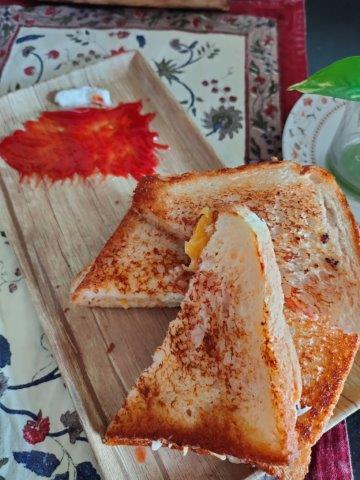Pumpkin sandwich